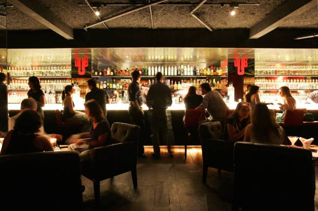 Ambiente do bar SubAstor, na Vila Madalena - Fernando Moraes