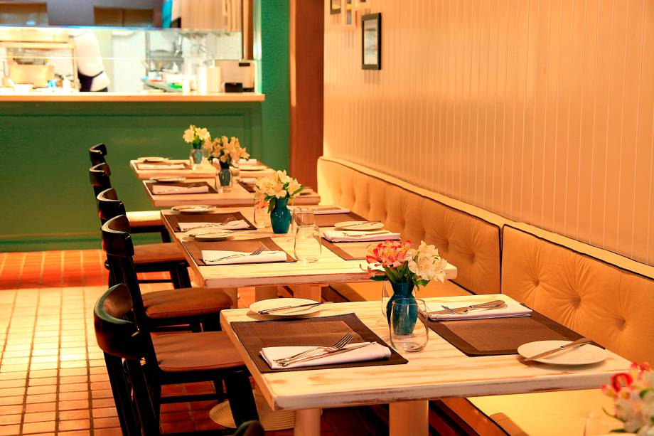 Ambiente do Éclat Restaurante