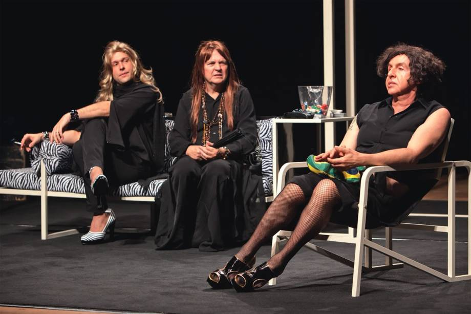 Mulheres muito loucas: Alex Gruli, Norival Rizzo e Elias Andreato integram o elenco da comédia Amigas, pero no mucho