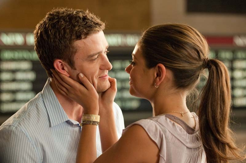 Amizade Colorida: ótima química entre Justin Timberlake e Mila Kunis