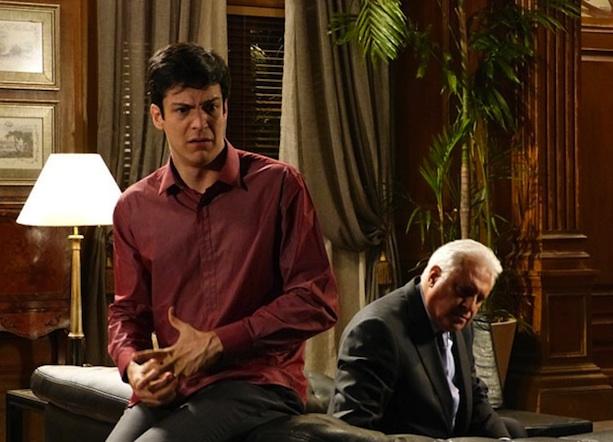 Ao lado de Mateus Solano, o Félix, na novela Amor à Vida