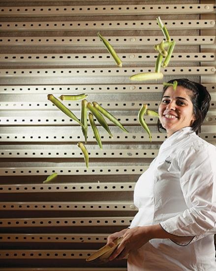 Ana Luiza Trajano: âncora de programa sobre cozinha brasileira (foto: Lucas Lima)