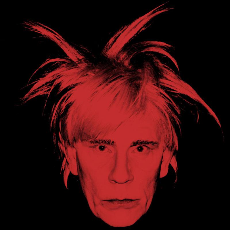 Andy Warhol / Self Portrait, de 1986