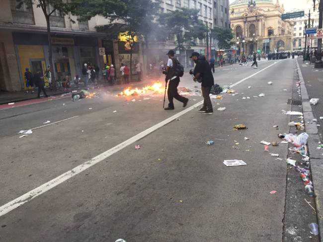 protesto passe livre