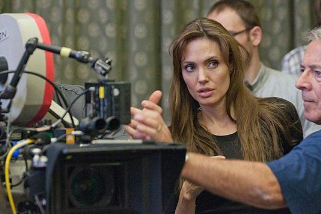 Angelina Jolie dirigiu seu último filme no ano passado