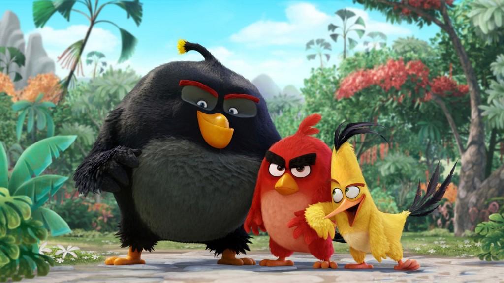 A animação Angry Birds está prevista para dia 12 de maio