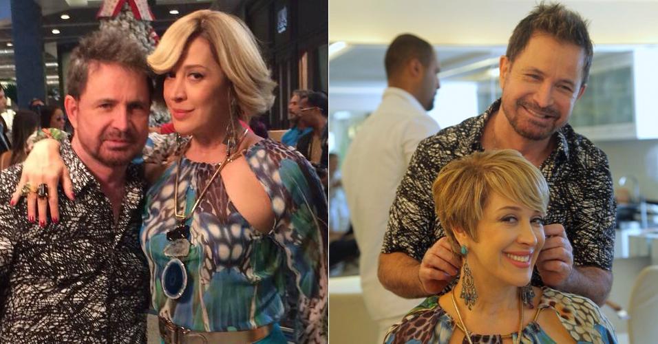 O antes e depois dos fios 'pixie' (Foto: Divulgação/Artur Meninea/Gshow)