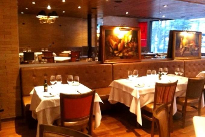 Antiquarius Grill: tudo pronto para a festa de inauguração para convidados no dia 9, a próxima segunda (Foto: Walter Benvenuti)