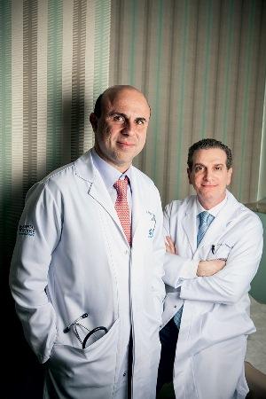 Fernando Maluf e Antonio Buzaid: investimento de 160 milhões de reais (Foto: Lucas Lima)