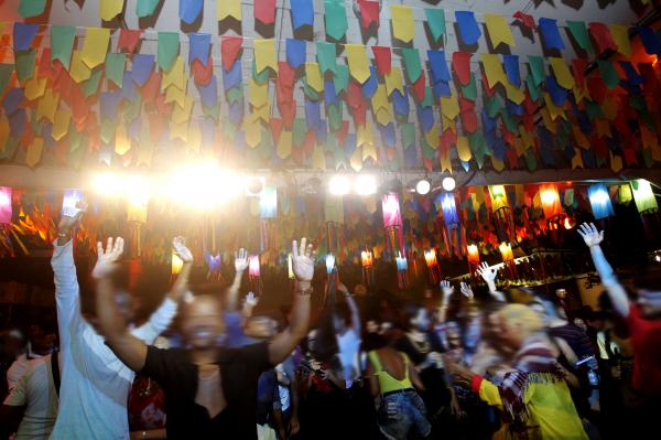 Festa de São João, no Pelourinho: mês de junho animado (Foto: Amanda Oliveira/GOVBA)
