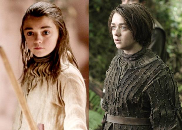 Arya ficou até mais legal em Game Of Thrones