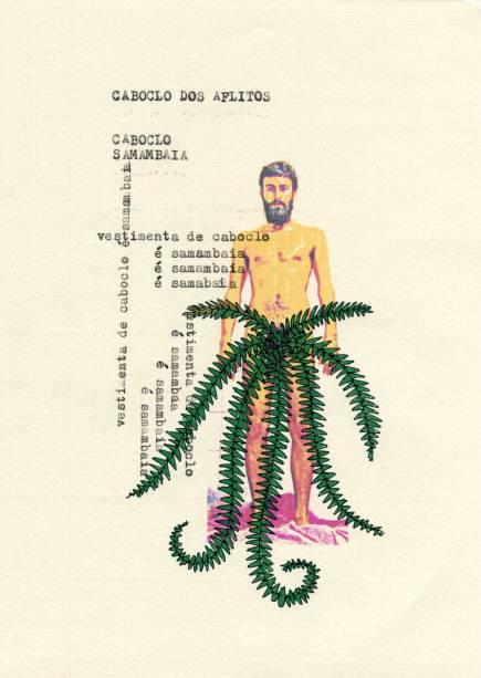 Caboclo Samambaia (O caboclo dos aflitos), de Arthur Scovino