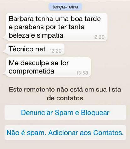 Mensagens telemarketing por Whatsapp