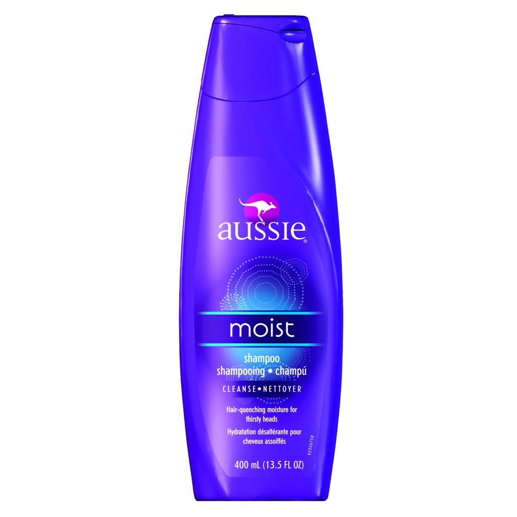 Aussie Moist: Xampu - Preço sugerido de venda: R$ 39,90