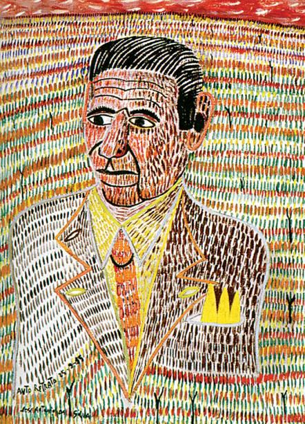 Autorretrato de José Antonio da Silva: arte do século XX