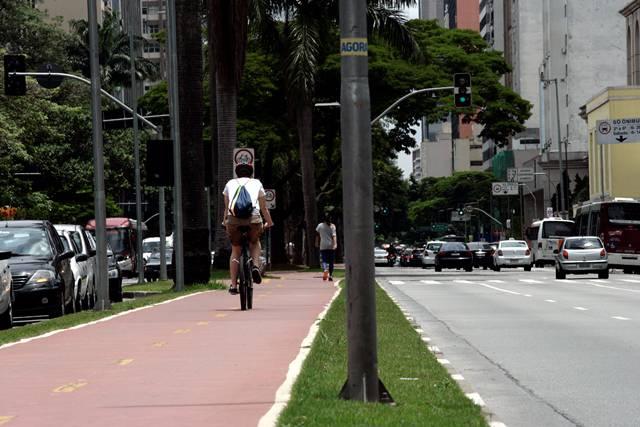 ciclovia avenida faria lima