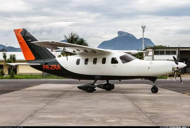 Avião PR-ZRA acidente Casa Verde