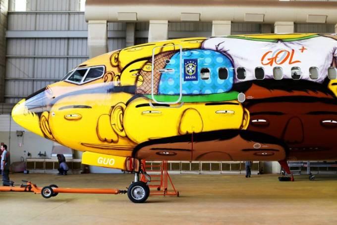 Popvo brasileiro foi inspiração para a dupla OsGemeos fazerem o grafite