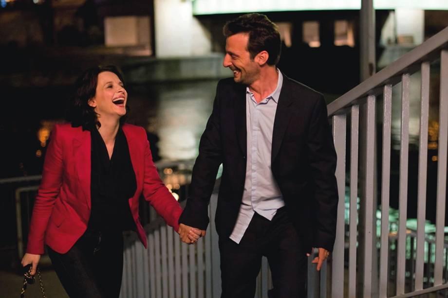 A Vida de Outra Mulher: Juliette Binoche e Mathieu Kassovitz