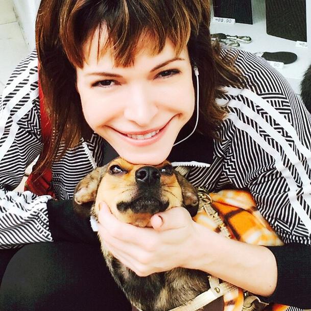 Babi e sua cachorrinha, Thai (Foto: Reprodução/Instagram)
