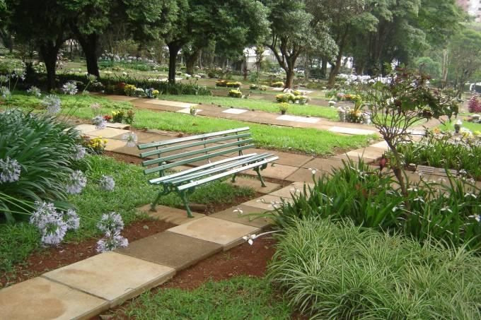 banco cemitério da paz