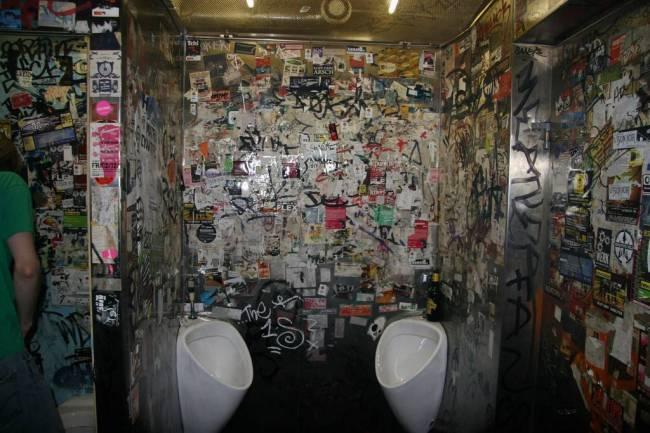 banheiro balada