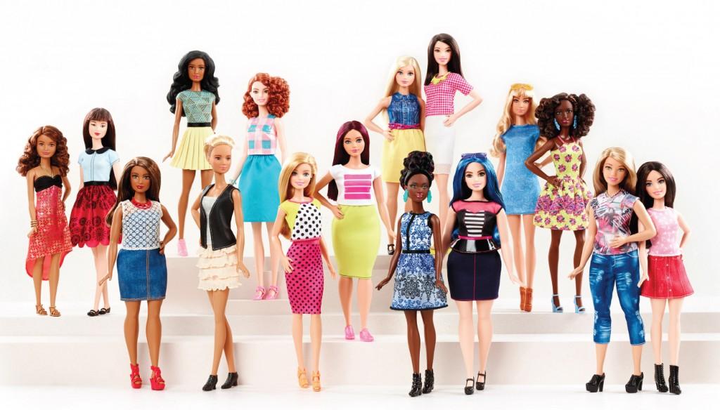 Barbie é a boneca mais famosa do mundo e ganhou versões com vários formatos de corpo, tonalidades de pele e cabelos