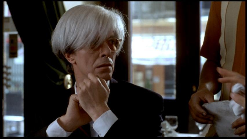 Basquiat, de 1996: Bowie ou Andy Warhol?