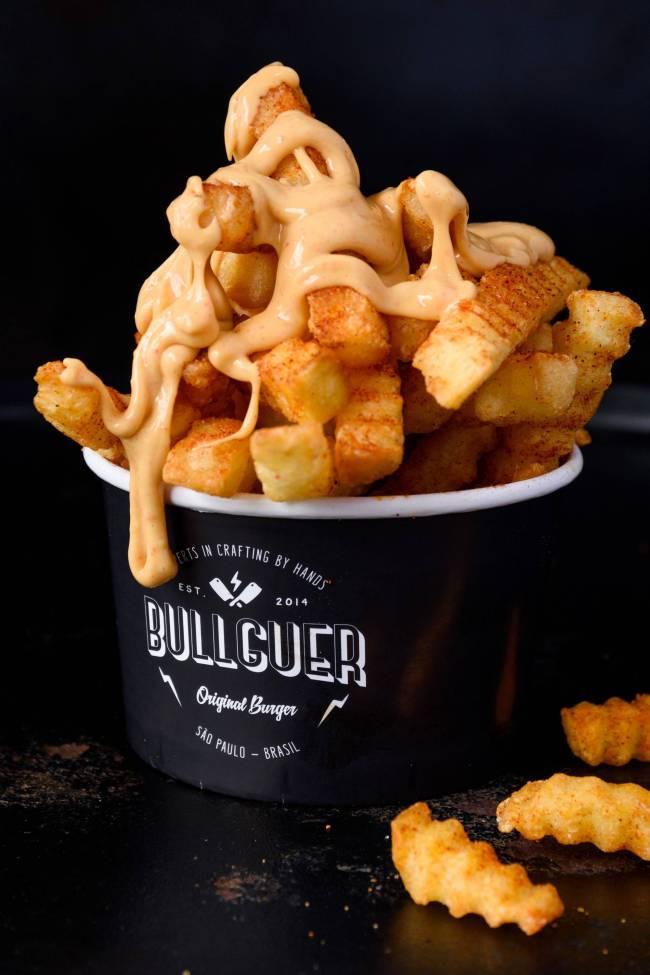 Batata com queijo - Bullguer