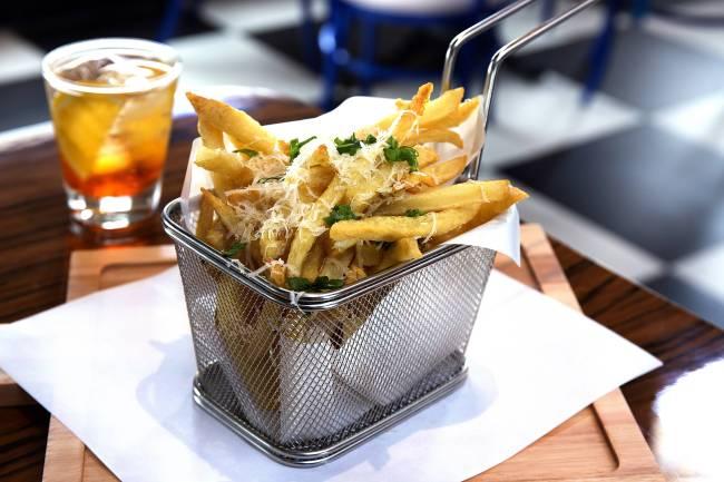 The Fifties: truffle fries