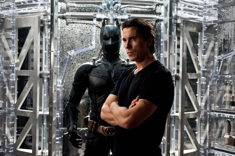 Christian Bale: ator interpreta novamente o duplo papel de Bruce Wayne e Batman