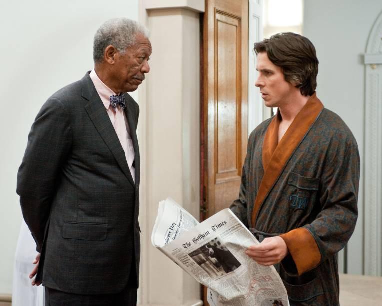 Batman - O Cavaleiro das Trevas Ressurge: Morgan Freeman também faz parte do elenco