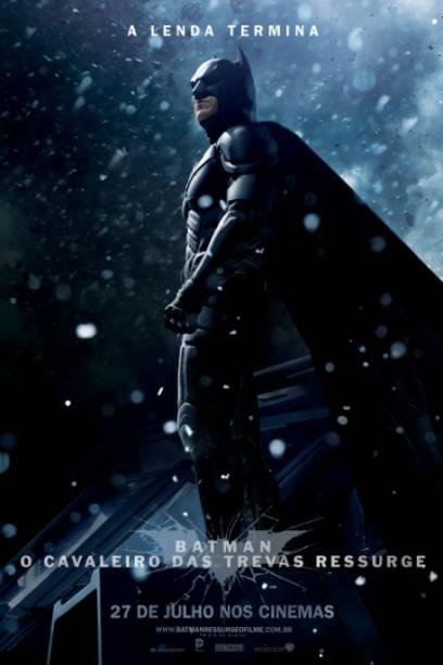 Cartaz do filme Batman - O Cavaleiro das Trevas Ressurge