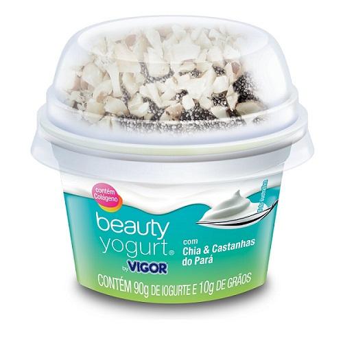 Beauty Yogurt - Chia e Castanhas