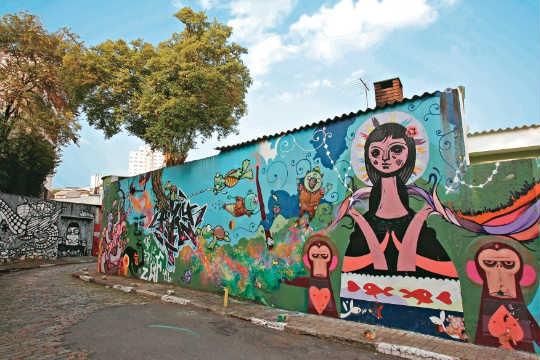Rua Gonçalo Afonso, o Beco do Batman: criatividade na ocupação do espaço público