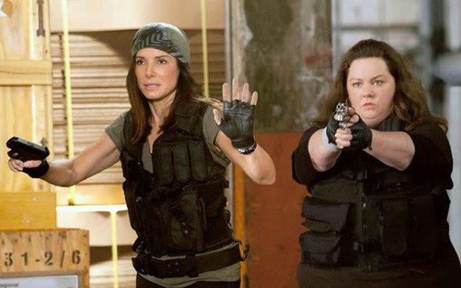 2013 – Com Melissa McCarthy, ela volta à comédia policial em As Bem-Armadas