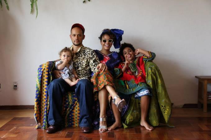 Festa de família africana terá venda de roupas, música e comidas