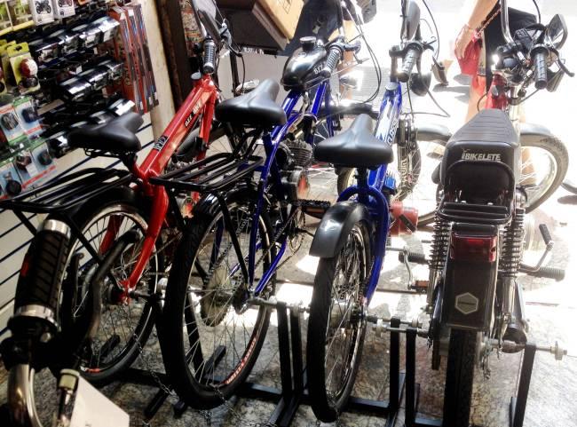 Bikelete Bicicleta 25 de Março