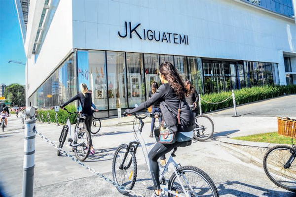 bikes no jk iguatemi