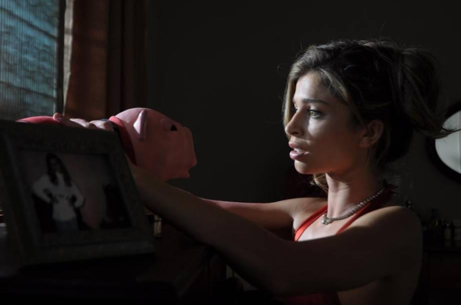 Marivalda (Grazi Massafera) em Billi Pig: atriz está em busca de uma grande recompensa