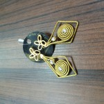 Brinco de capim dourado: 30 reais