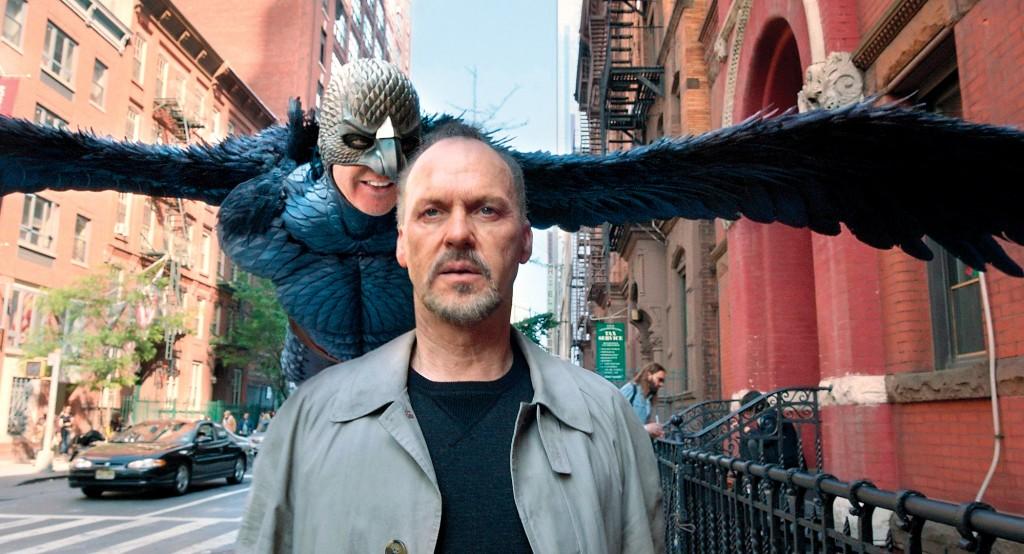 Michael Keaton em Birdman, filme vencedor do Oscar 2015