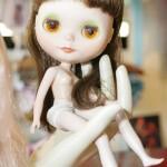 A boneca Blythe: Prada e Dolce & Gabbana já criaram roupas para ela (Foto: Fernando Moraes)