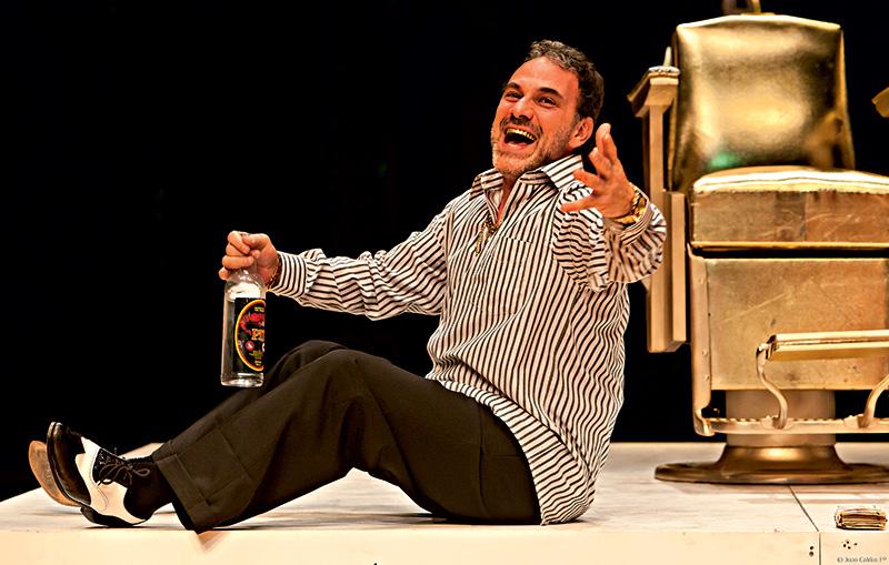 Marco Ricca é o protagonista de Boca de Ouro