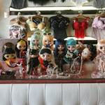 Blythes integrantes da coleção de Thais Gusmão: ao todo, ela tem 24 modelos diferentes (Foto: Fernando Moraes)