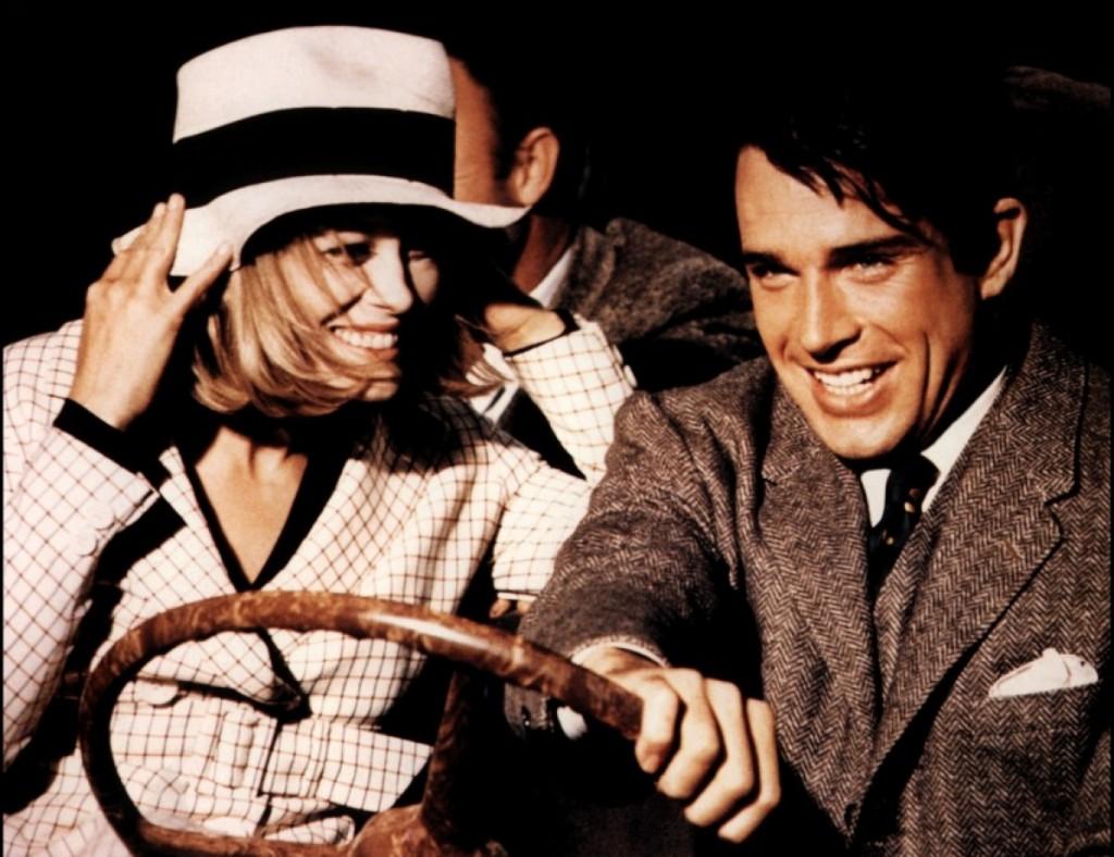 Bonnie & Clyde, com Faye Dunaway e Warren Beatty:  8, 9 e 12 de novembro