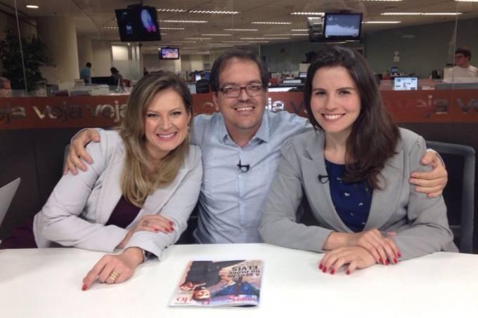 Em trio: Joice, eu e Helena (Foto: arquivo pessoal)