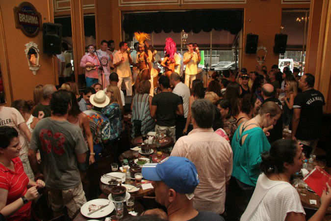 Bar Brahma, no cruzamento da Avenida Ipiranga com a Avenida São João (Foto: Divulgação)