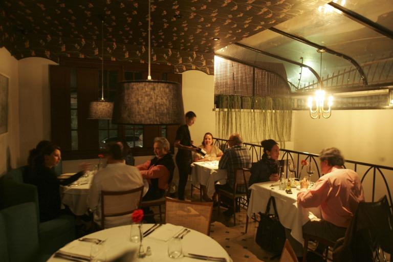 Salão do restaurante: registro de 2012 (Foto: Mario Rodrigues)