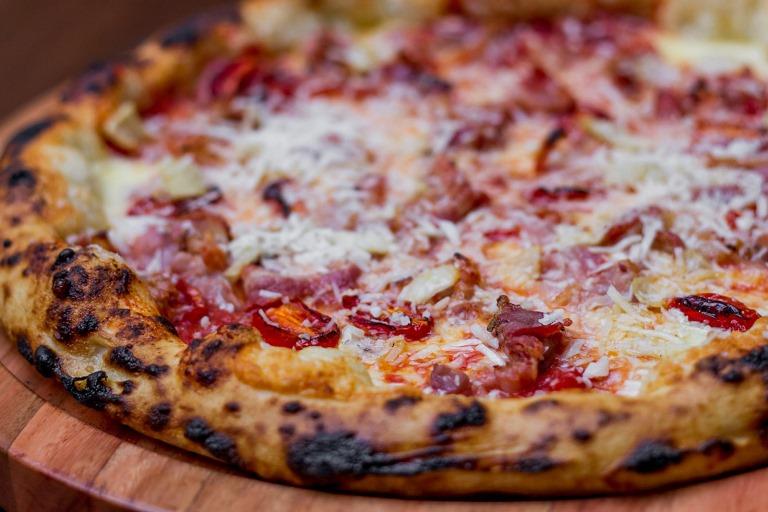 Pizza amatriciana: uma das coberturas que poderá ser provada também na nova unidade (Foto: Leo Feltran)